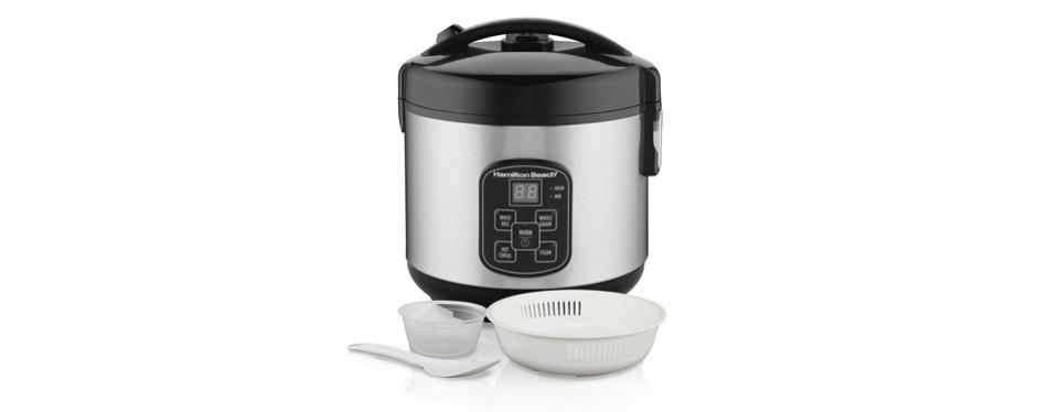 hamilton beach (37518) rice cooker