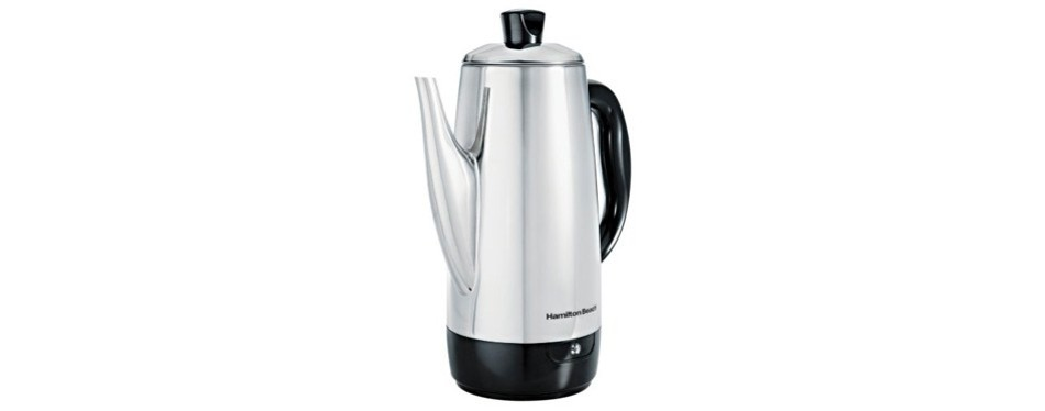 hamilton beach 40616 12-cup electric coffee percolator