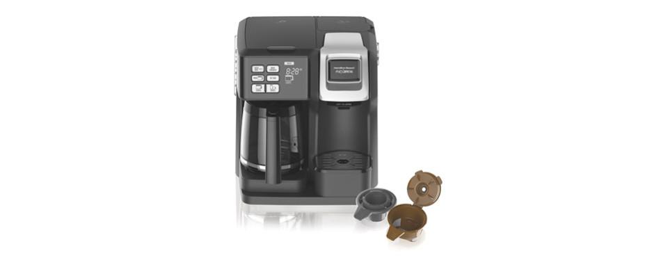 hamilton beach (49976) coffee maker, single serve & full coffee pot