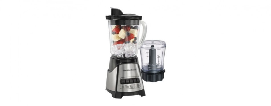 hamilton beach glass jar blender