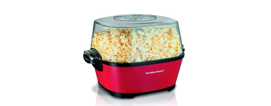 hamilton beach popcorn popper-hot oil