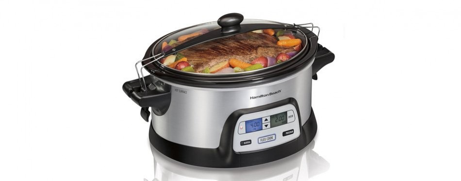hamilton beach programmable dual digital timer slow cooker
