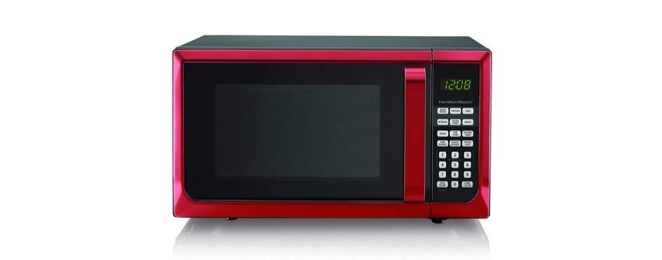 hamilton beech .9 cubic foot 900 watt microwave