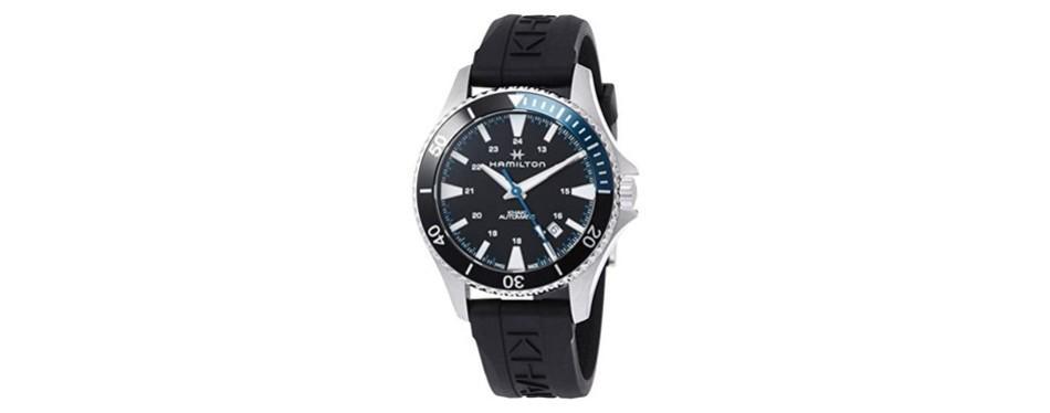 hamilton khaki navy scuba men's watch
