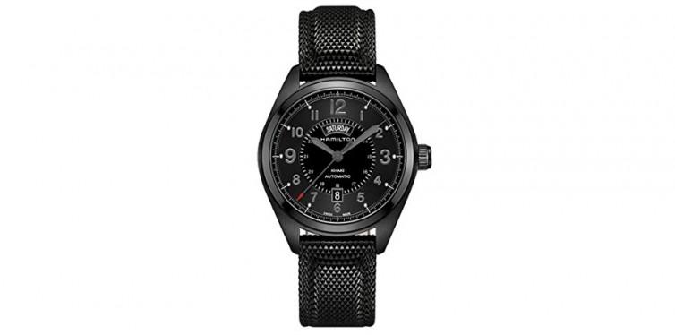 Hamilton Men's Field Date Black Watch