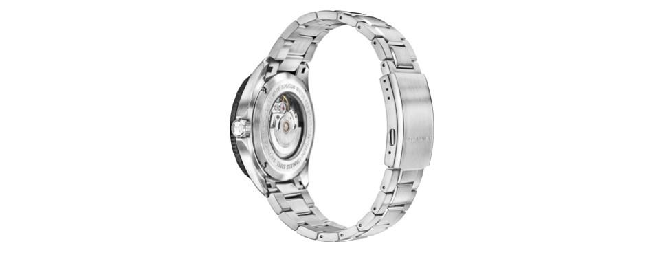 hamilton men's khaki aviation automatic stainless steel watch