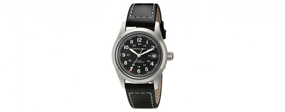 hamilton men's khaki field watch