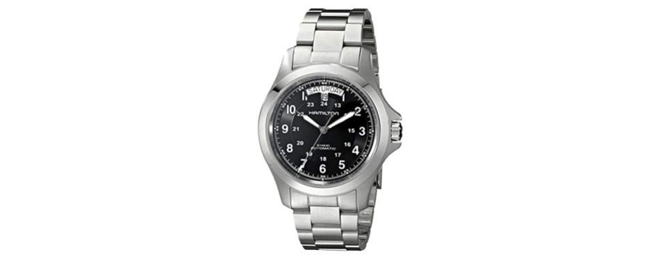 Hamilton Men's Khaki King II Black Dial Watch
