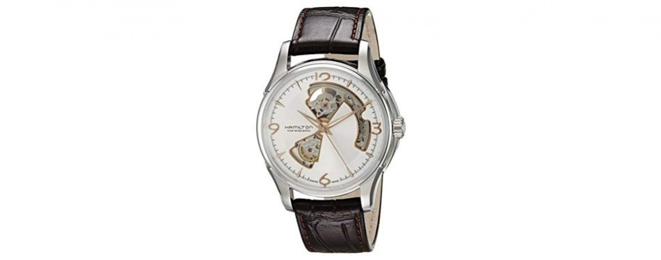 hamilton men's open heart watch