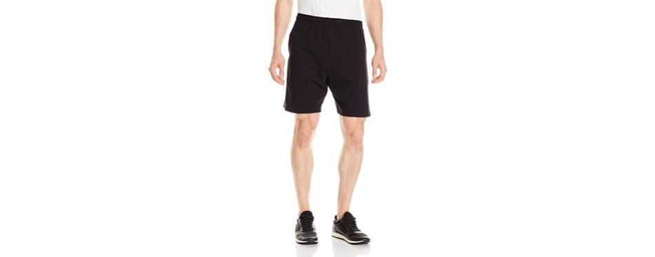 hanes jersey sports shorts