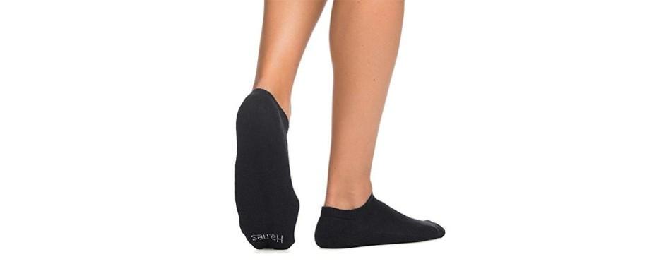 hanes men's no show socks