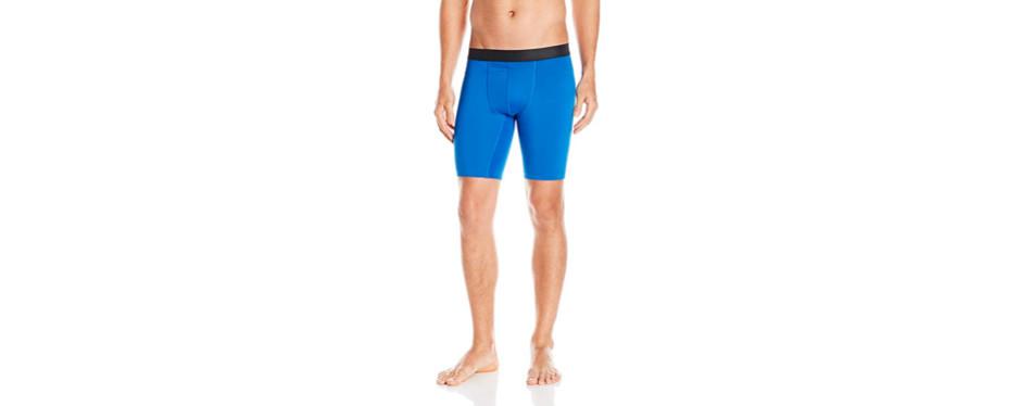 hanes sport men's performance compression short