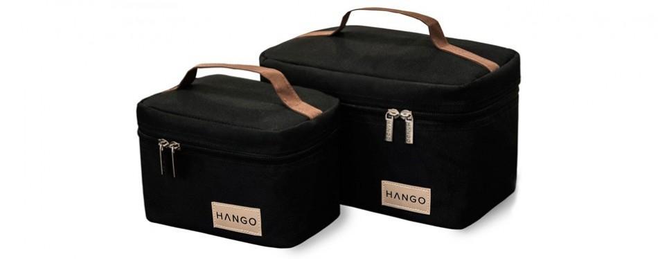 hango adult lunch box set of two