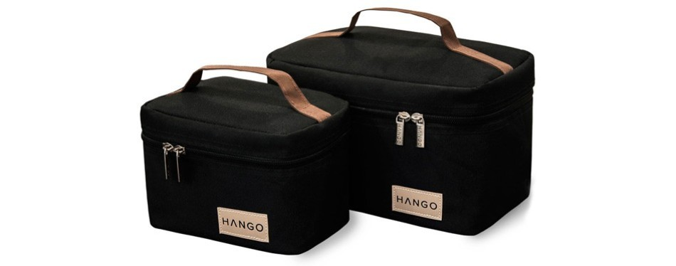 hango adult lunch box set of two