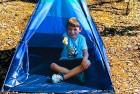 happy hut kids play tent
