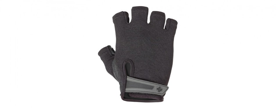 harbinger power non-wrist wrap weightlifting gloves