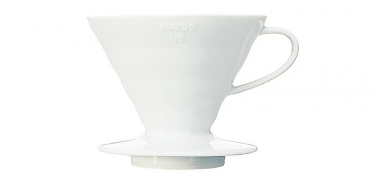3. Hario V60 Ceramic Coffee Dripper