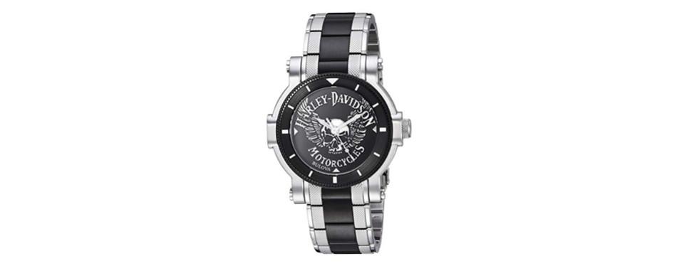 harley-davidson bulova watch