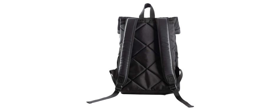 harvest womens waterproof canvas mini rolltop backpack
