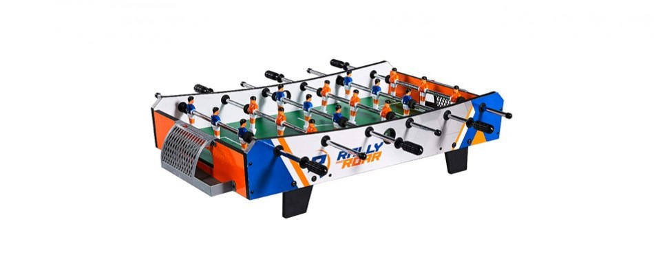 rally and roar tabletop foosball table