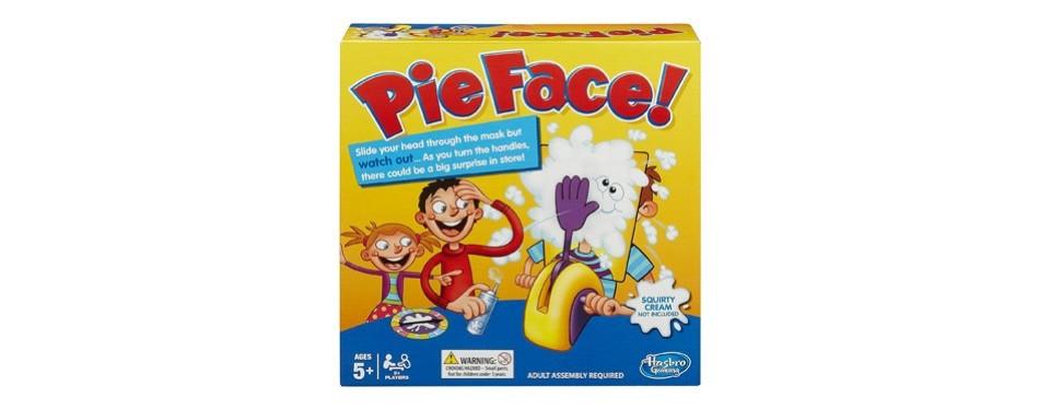 hasbro pie face game