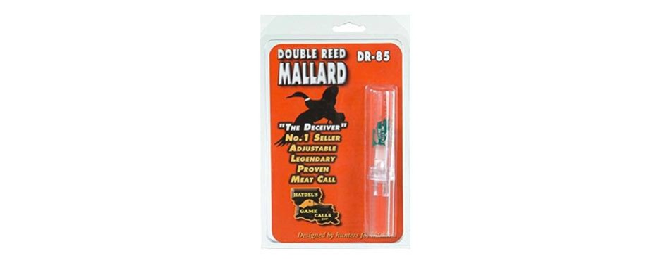 haydel's game calls ha-yardel-feets dr-85 mallard call d reed