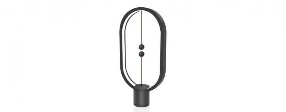 heng ellipse magnetic mid-air usb powered led lamp