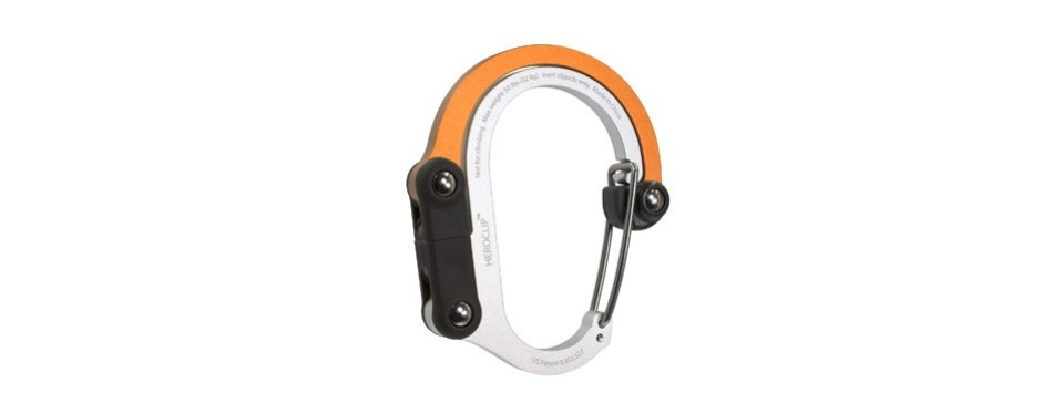 heroclip hybrid carabiner clip