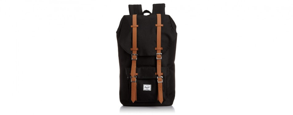 herschel little america backpack-black