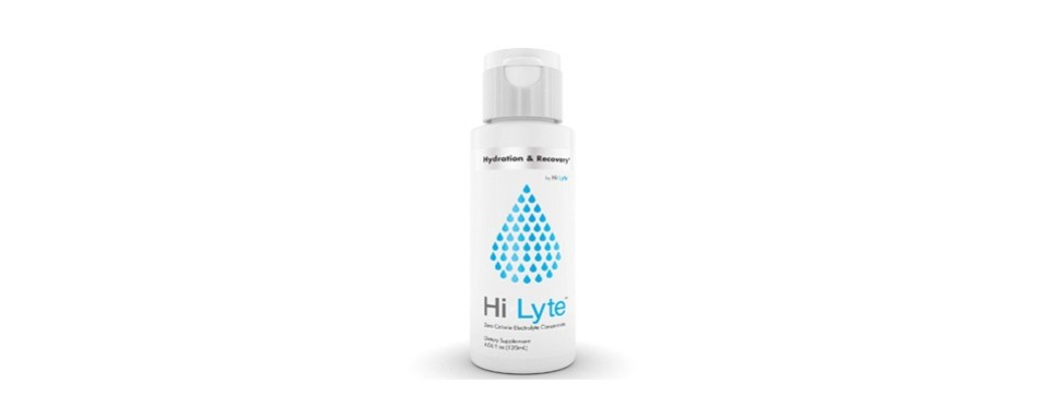 hi-lyte electrolyte drink for rapid hydration