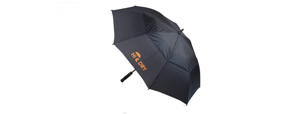 hi&dry classic big golf umbrella