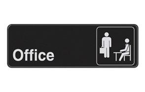 hillman 841754 office visual impact adhesive self sign