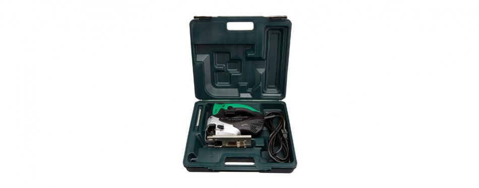 hitachi variable speed jigsaw with blower