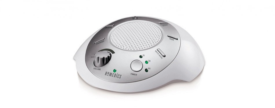 homedics portable white noise machine