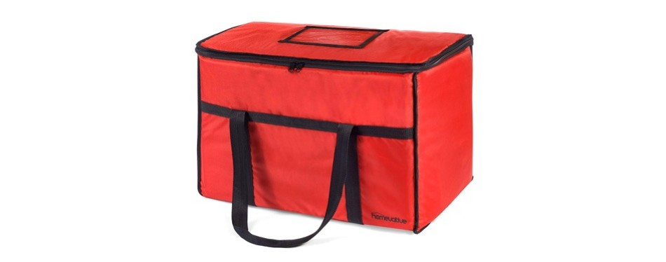 homevative nylon insulated food bag