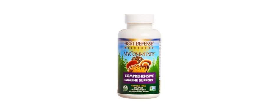 host defense mycommunity multi mushroom capsules