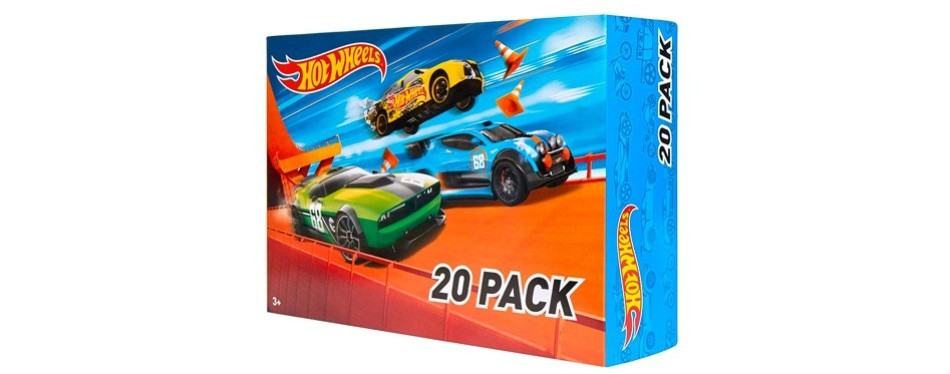hot wheels 20 cars gift pack