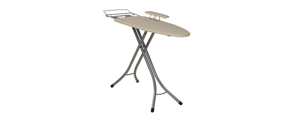 household essentials wide top 4-leg mega ironing board