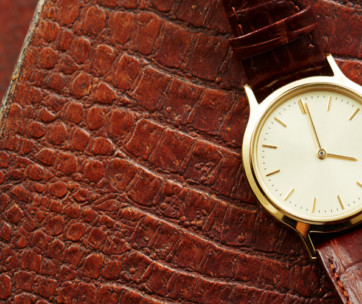 how to take care of leather watch straps