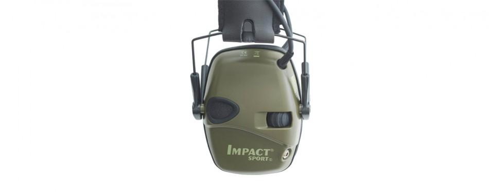 howard leight impact sport electronic earmuff