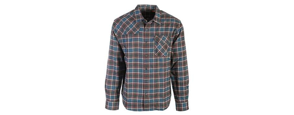 howler brothers harker's flannel shirt