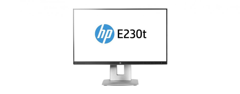 hp business e230t 23-inch led lcd touch screen monitor