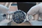 Michael Kors Men's MK8400 - Jetmaster Silver/Blue