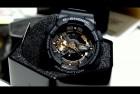 Casio G-Shock Black Analog-Digital Rose Gold Watch
