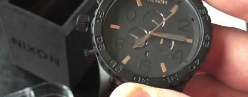 Nixon Chrono Japanese Quartz Watch