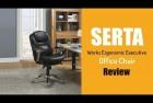 Serta Back In Motion Ergonomic Office Chair