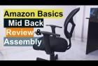 AmazonBasics Mid-Back Mesh