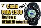 Casio Pro Trek Solar Fishing Watch
