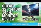 Viotek 32-inch Curved Gaming Monitor