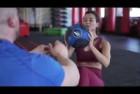 DYNAPRO Durable Rubber Medicine Ball